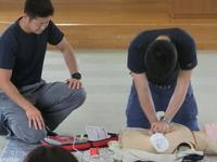 救急救命法講習会