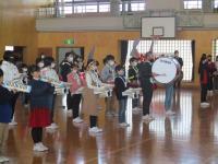 新鼓笛隊の演奏
